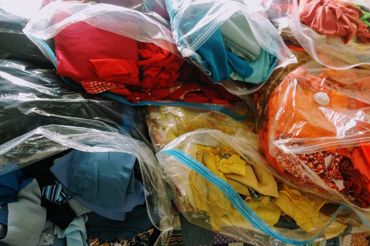Bags Colourful Fabric