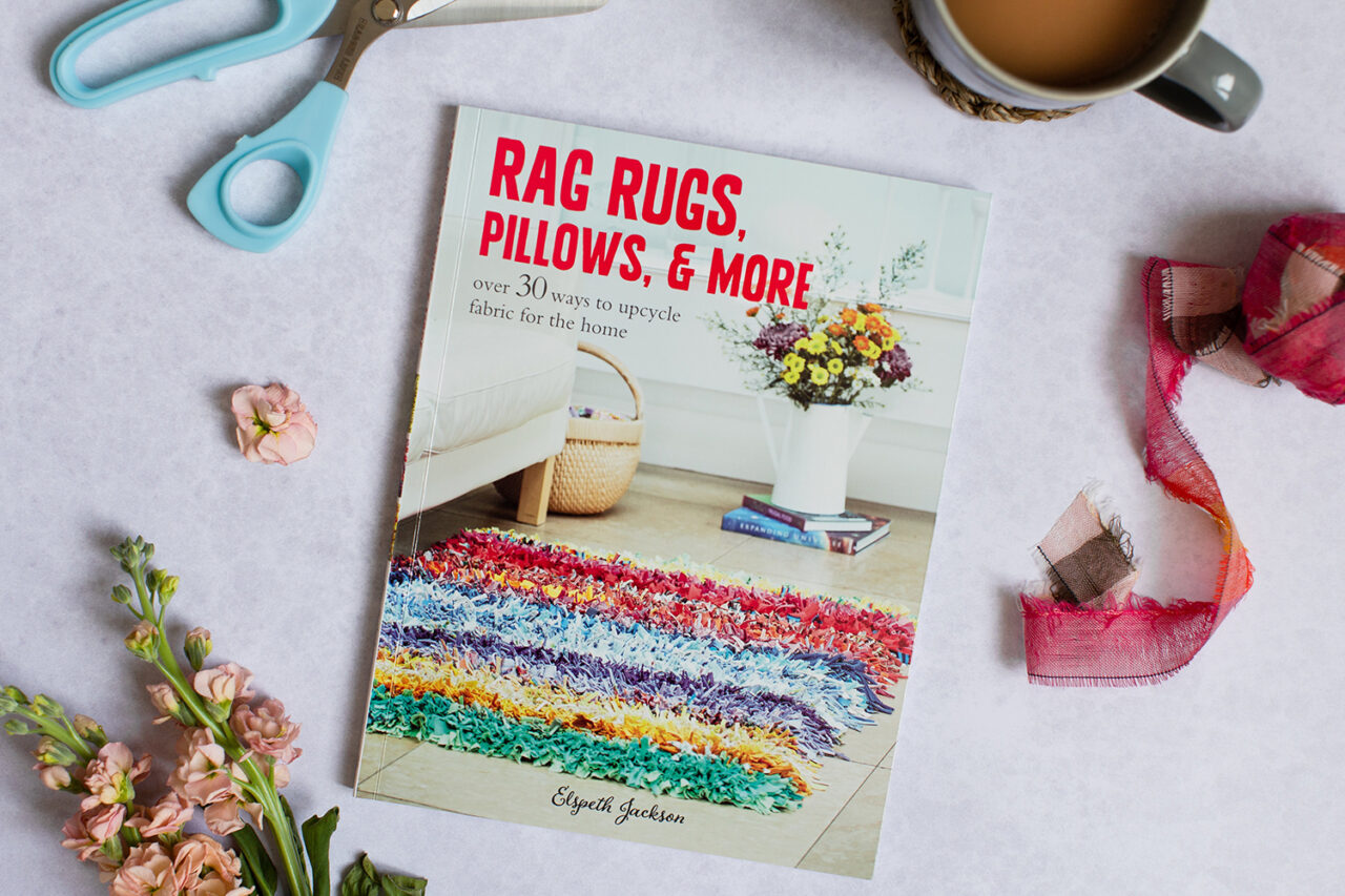 Rag Rugs, Pillows and More book by author Elspeth Jackson