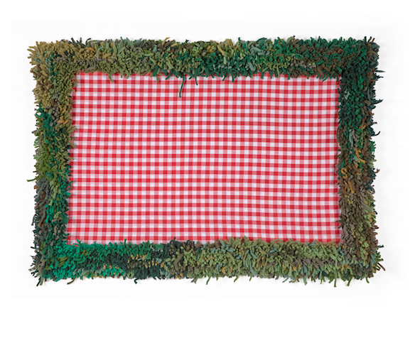 Picnic Blanket and Grass Textile