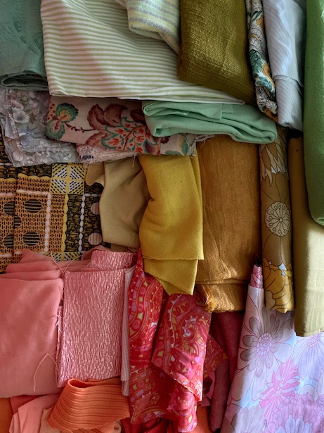 Recycled Fabric Colour Palette