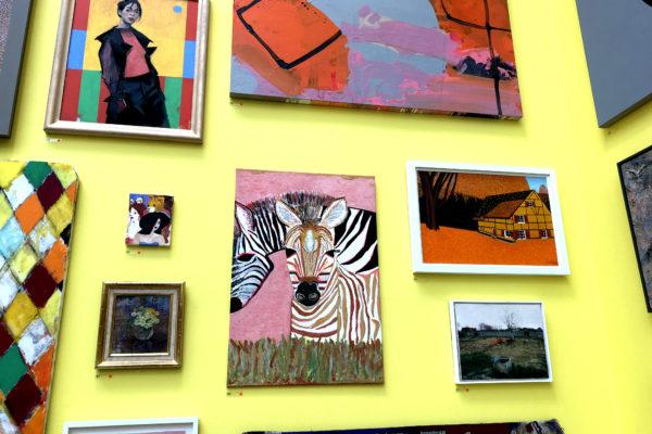 Royal Academy Summer Exhibition 2018 Zebra Painting