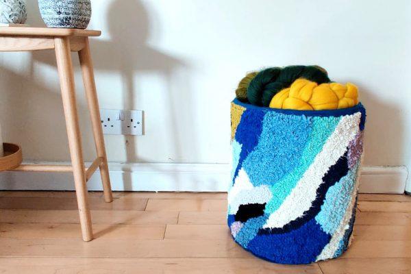 rag rug Laundry basket